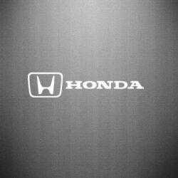 Наклейка Логотип Honda - PrintSalon