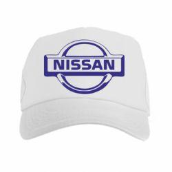 Кепка-тракер логотип Nissan - PrintSalon