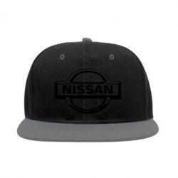 Снепбек логотип Nissan - PrintSalon
