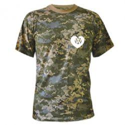 Камуфляжная футболка Love Volkswagen