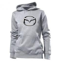 Женская толстовка Mazda 3D Logo