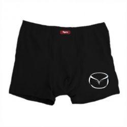 Мужские трусы Mazda 3D Logo