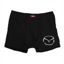 Мужские трусы Mazda 3D Small Logo