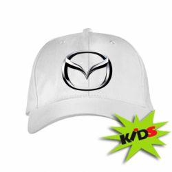 Детская кепка Mazda 3D Small Logo