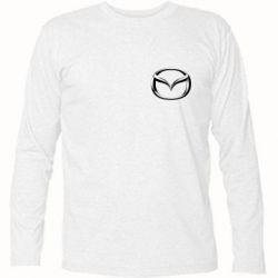 Футболка с длинным рукавом Mazda 3D Small Logo