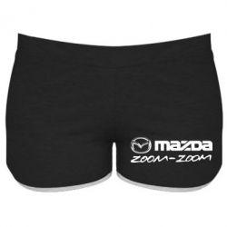 Женские шорты Mazda Zoom-Zoom