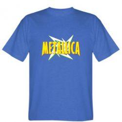 Мужская футболка Metallica Logo - PrintSalon