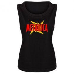 Женская майка Metallica Logo - PrintSalon