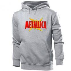 Толстовка Metallica Logo - PrintSalon