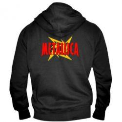 Мужская толстовка на молнии Metallica Logo - PrintSalon