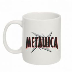 Кружка 320ml Metallica Logo - PrintSalon