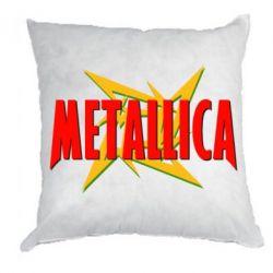 Подушка Metallica Logo - PrintSalon
