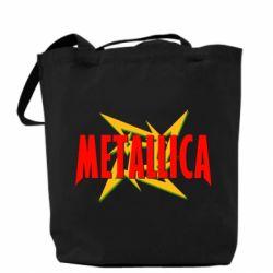 Сумка Metallica Logo - PrintSalon