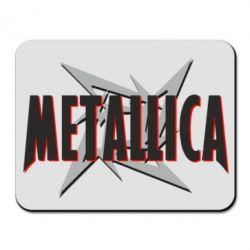 Коврик для мыши Metallica Logo - PrintSalon