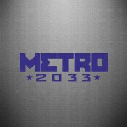 Наклейка Metro 2033 - купити в Києві 39b9d6adc2bef