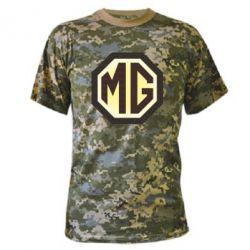 Камуфляжная футболка MG Cars Logo