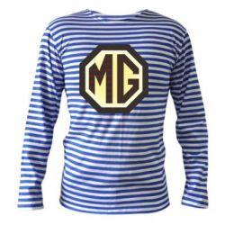 Тельняшка с длинным рукавом MG Cars Logo