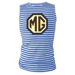 Майка-тельняшка MG Cars Logo