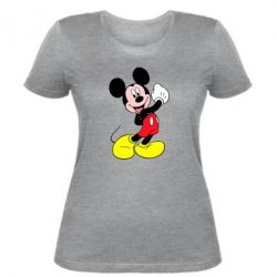 Женская футболка Микки Маус