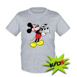 Детская футболка Микки режиссер