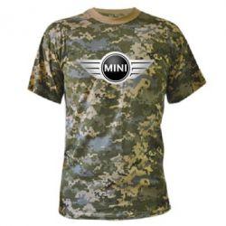 Камуфляжная футболка Mini Cooper