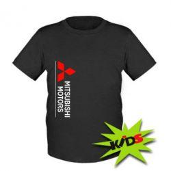 Детская футболка Mitsubishi Motors лого