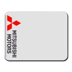 Коврик для мыши Mitsubishi Motors лого