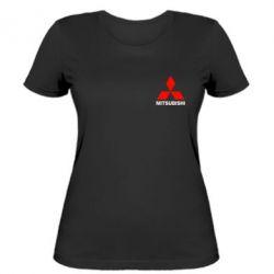 Женская футболка Mitsubishi small