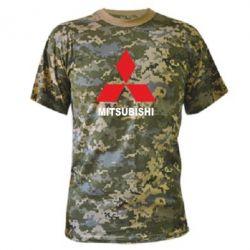 Камуфляжная футболка MITSUBISHI - PrintSalon