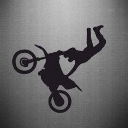 Наклейка Motocross Logo
