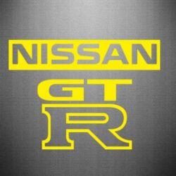 Наклейка Nissan GT-R
