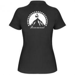 Женская футболка поло P**nomaunt - PrintSalon