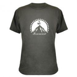 Камуфляжная футболка P**nomaunt - PrintSalon