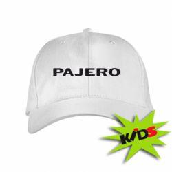 Детская кепка PAJERO