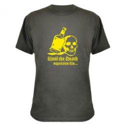 Камуфляжная футболка Пока смерть не разлучит нас