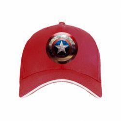 кепка Потрескавшийся щит Капитана Америка - PrintSalon