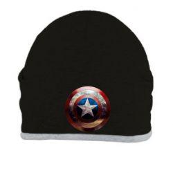 Шапка Потрескавшийся щит Капитана Америка - PrintSalon