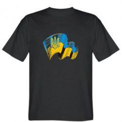 Чоловічі футболки на тему  Герб України - купити або замовити онлайн ... 2fdedd5e13b6e