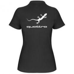 Женская футболка поло Quattro - PrintSalon
