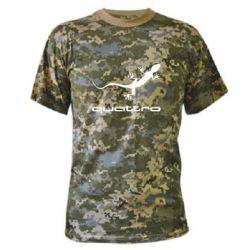 Камуфляжная футболка Quattro - PrintSalon