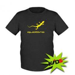 Детская футболка Quattro - PrintSalon