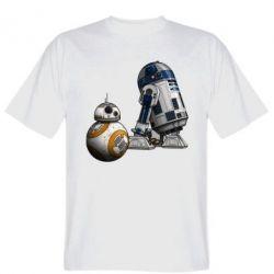 Мужская футболка R2D2 & BB-8 - PrintSalon