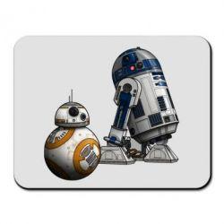 Коврик для мыши R2D2 & BB-8 - PrintSalon