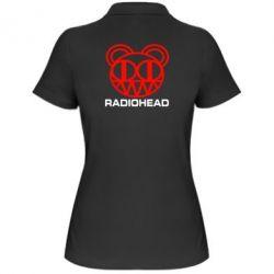 Женская футболка поло Radiohead