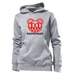 Женская толстовка Radiohead