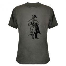 Камуфляжная футболка Руки в боки - PrintSalon