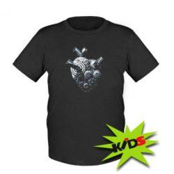 Детская футболка Сердце моторчик