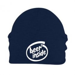 Шапка на флисе Beer Inside - PrintSalon
