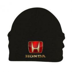 Шапка на флисе Gold Honda - PrintSalon