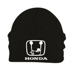Шапка на флисе Honda - PrintSalon